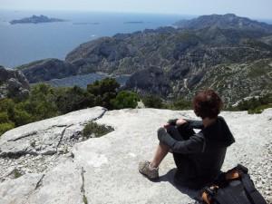 Depuis le Col de la Candelle, vue vers le Sud Ouest