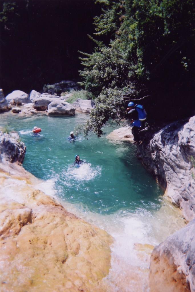 Les eaux claires de Barbaira. top canyoning 06