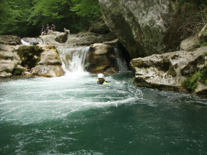 canyoning Vence Cannes