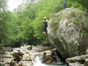 saut canyoning à Nice