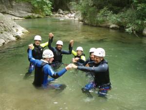 séminaire canyoning Nice