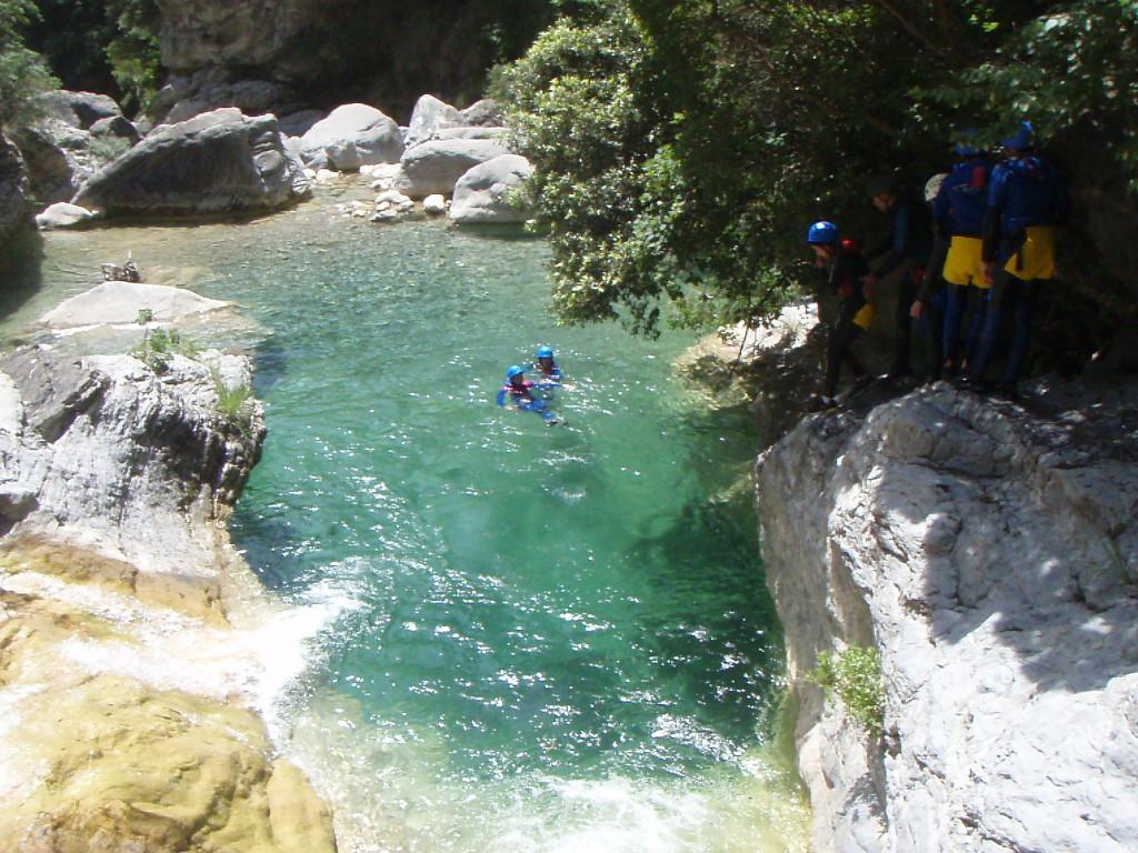 Canyoning frejus et saint raphael camp4 for La table saint raphael