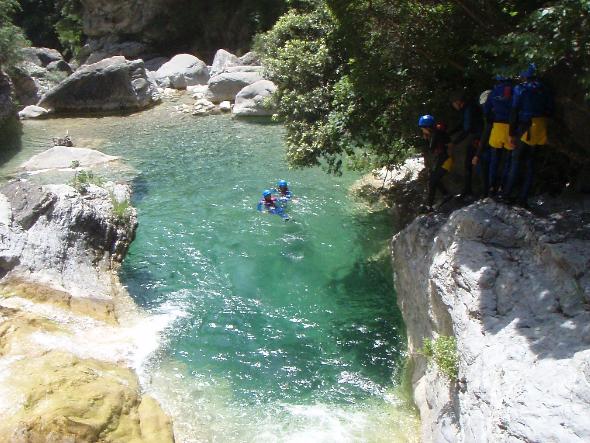 Canyoning frejus et saint raphael camp4 - Office du tourisme frejus saint raphael ...