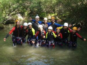 canyoning Siagne de la pare