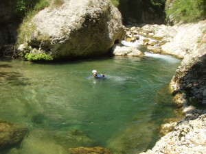 canyoning Fréjus