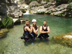 canyoning 83 06, canyoning Fréjus/St raphaël