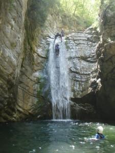 canyoning à Nice et Fréjus St Raphaël;canyoning à Nice