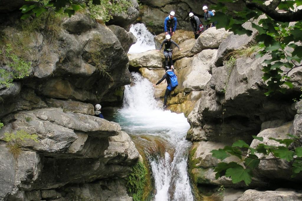 canyoning près de saint raphael