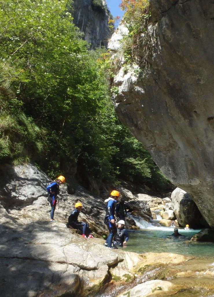 canyoning près de Saint-Raphaël
