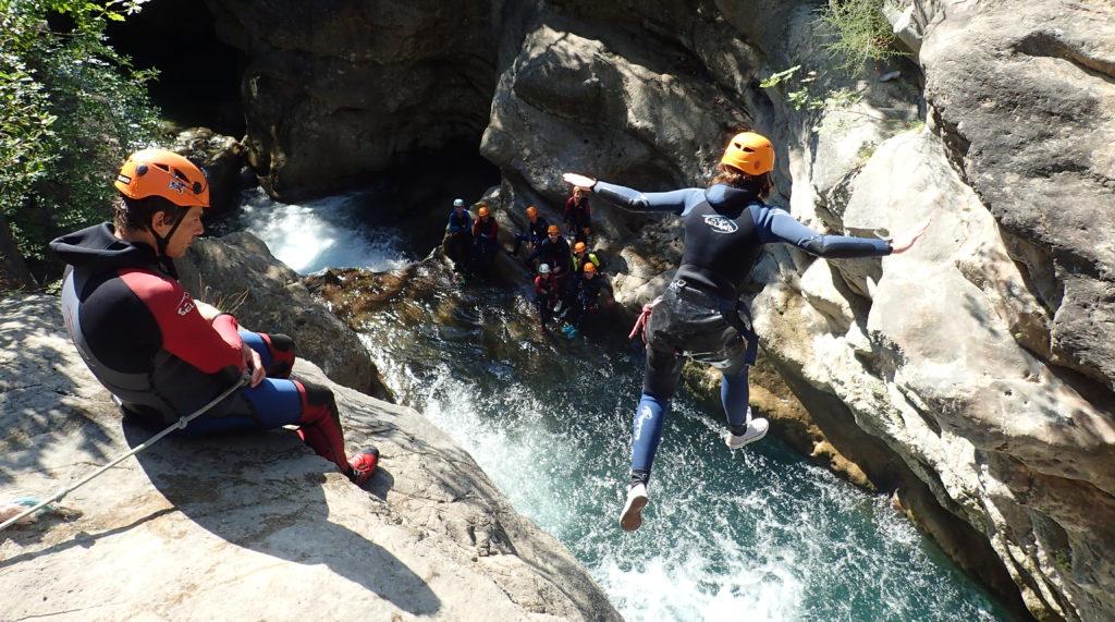 canyoning saint raphael
