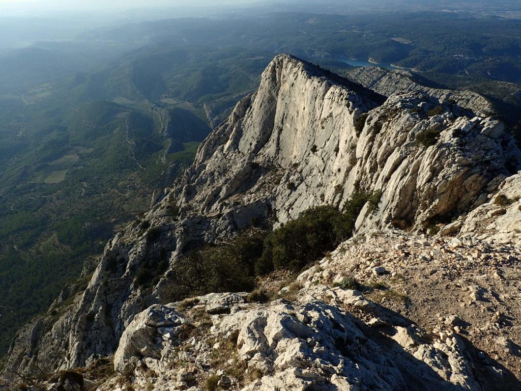 rando escalade sur Sainte Victoire